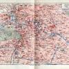 Berlin Stadtplan um 1900