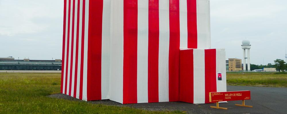 Kunstausstellung Tempelhofer Feld, Berlin