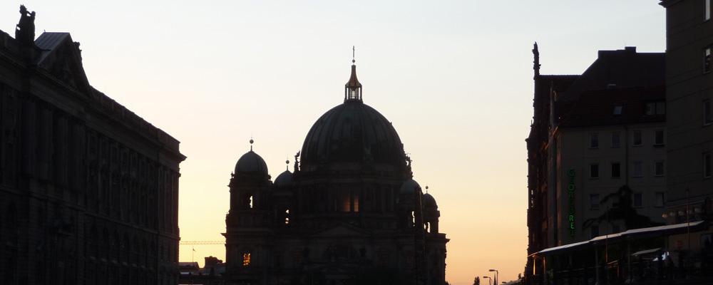 Berliner Dom, Spree
